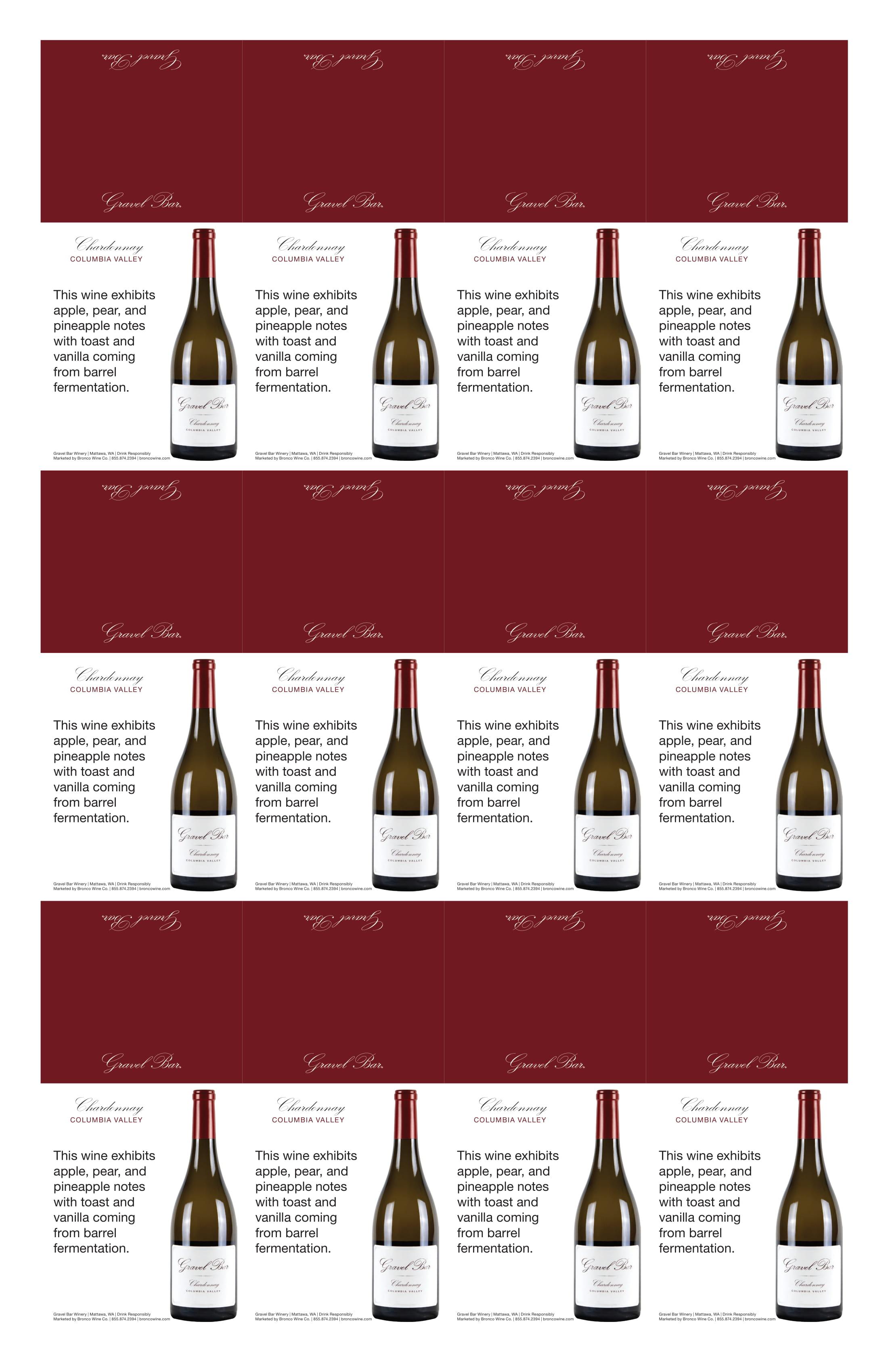 Gravel Bar Chardonnay Neckers