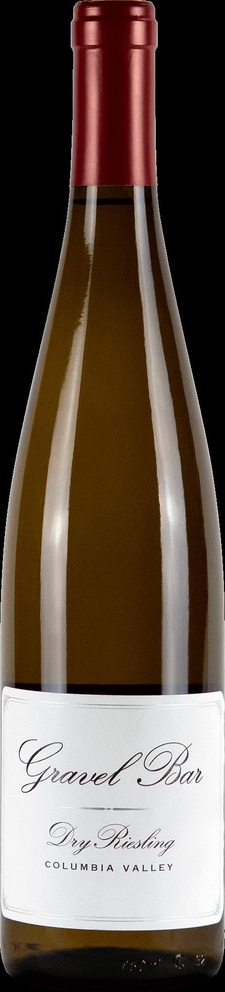 Gravel Bar Dry Riesling Bottleshot