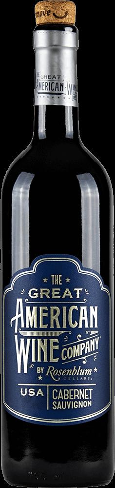 The Great American Wine Company Cabernet Sauvignon Bottleshot