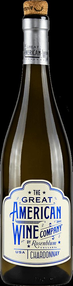 The Great American Wine Company Chardonnay Bottleshot