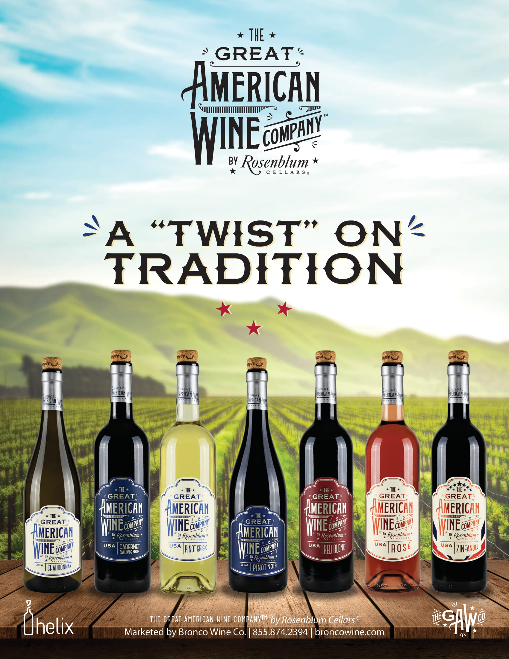 The Great American Wine Company Family Sell Sheet