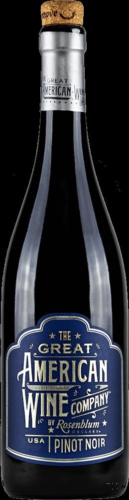 The Great American Wine Company Pinot Noir Bottleshot