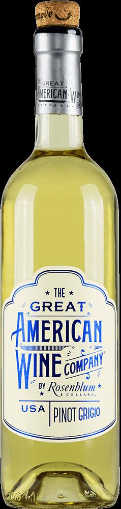 The Great American Wine Company Pinot Grigio Bottleshot