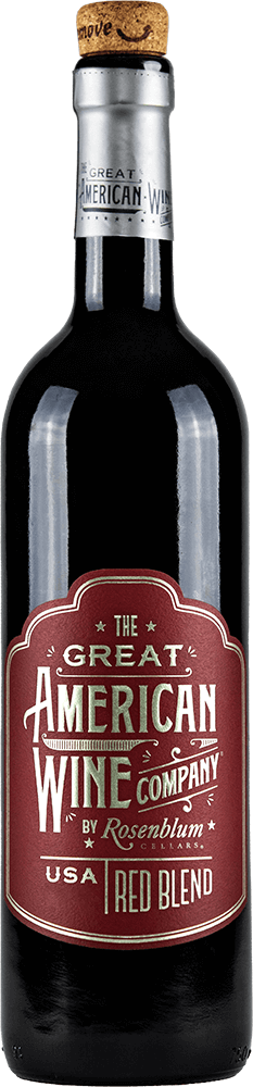 The Great American Wine Company Red Blend Bottleshot