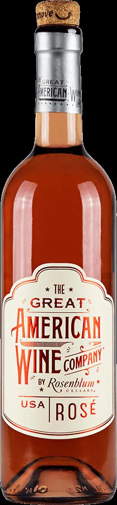 The Great American Wine Company Rosé Bottleshot