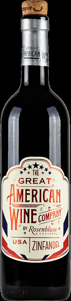 The Great American Wine Company Zinfandel Bottleshot
