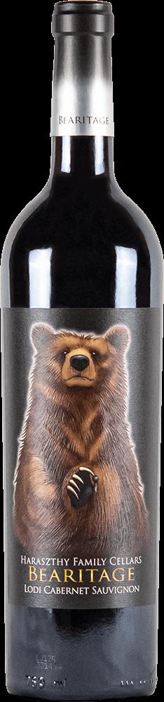 Haraszthy Bearitage Cabernet Sauvignon Bottleshot