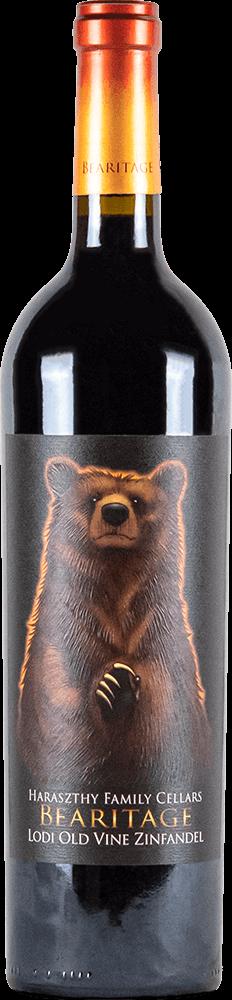 Haraszthy Bearitage Old Vine Zinfandel Bottleshot
