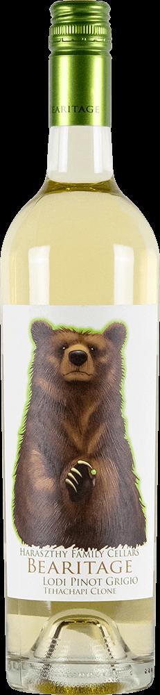 Haraszthy Bearitage Pinot Grigio Bottleshot