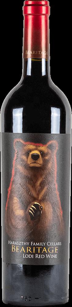 Haraszthy Bearitage Red Wine Bottleshot