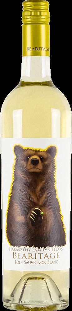 Haraszthy Bearitage Sauvignon Blanc Bottleshot