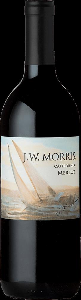 JW Morris Merlot Bottleshot