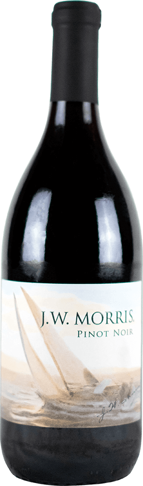 JW Morris Pinot Noir Bottleshot
