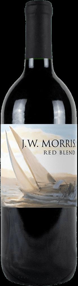 JW Morris Red Blend Bottleshot