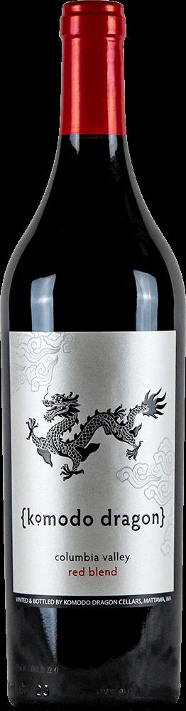 Komodo Dragon Red Blend Bottleshot