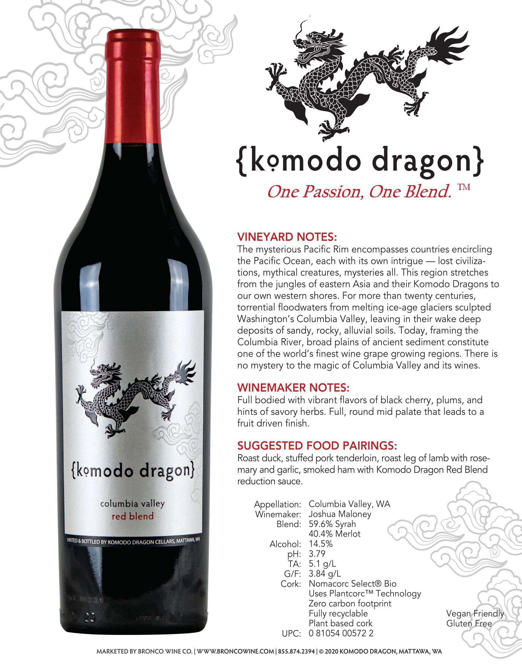 Komodo Dragon Sell Sheet