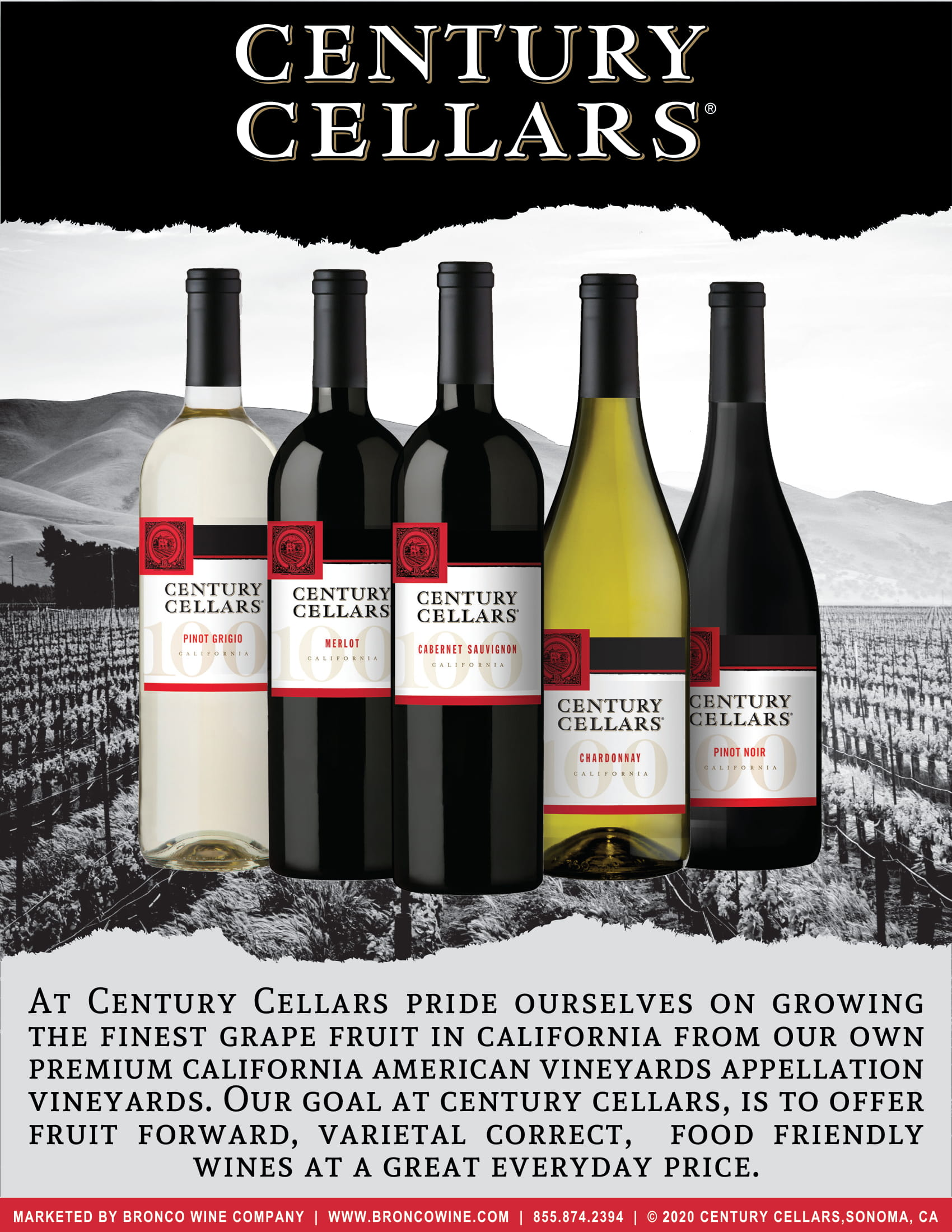 Century Cellars Family Tech Sheet