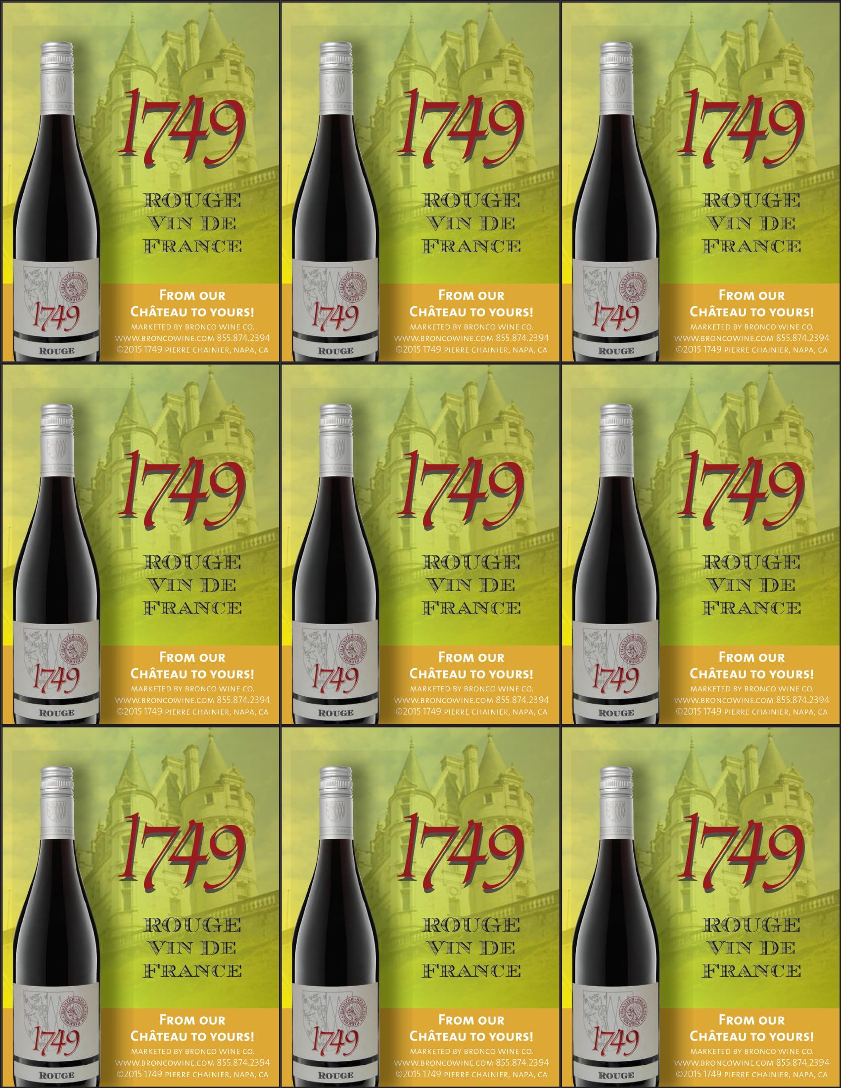 1749 Rouge Shelf Talkers