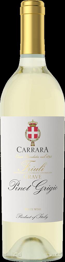 Carrara Pinot Grigio Bottleshot
