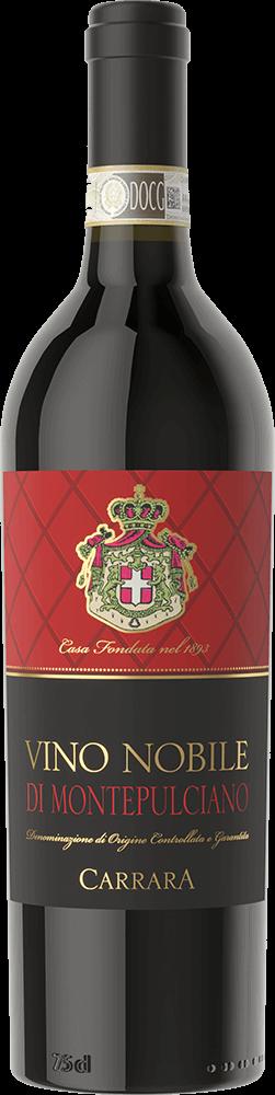 Carrara Vino Nobile Bottleshot
