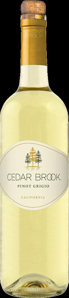 Cedar Brook Pinot Grigio Bottleshot