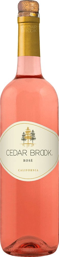 Cedar Brook Rosé Bottleshot