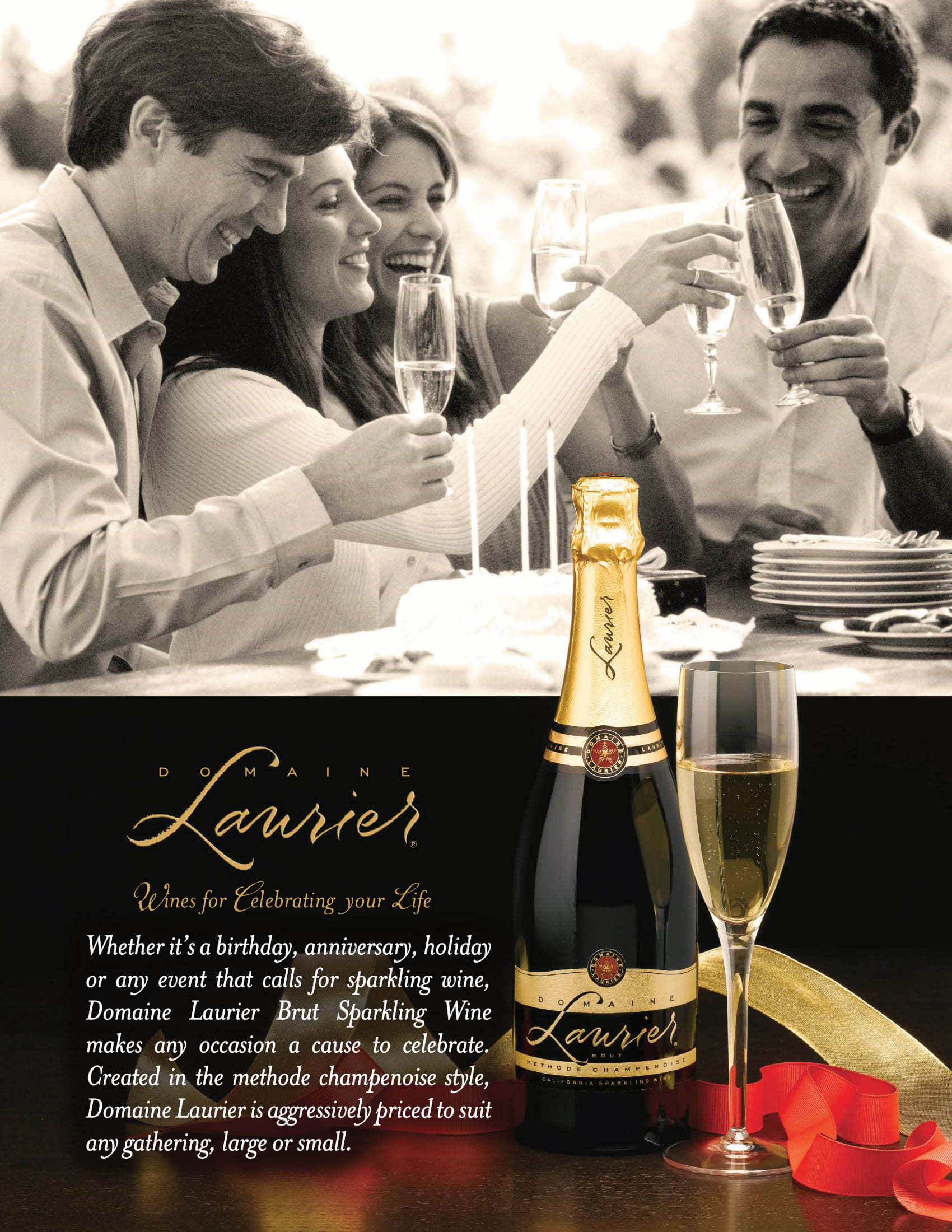 Domaine Laurier Sparkling Wines Family Sell Sheet