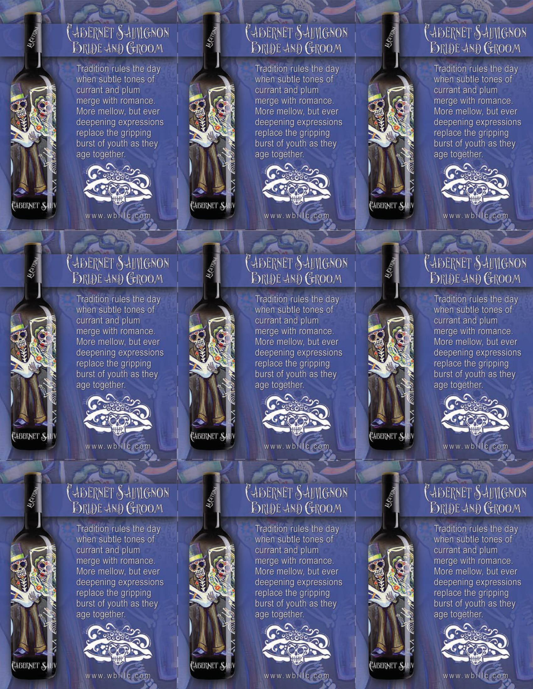 La Catrina Vino Cabernet Sauvignon Shelf Talkers
