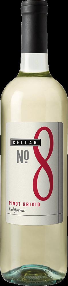 Cellar #8 Pinot Grigio Bottleshot