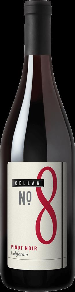 Cellar #8 Pinot Noir Bottleshot