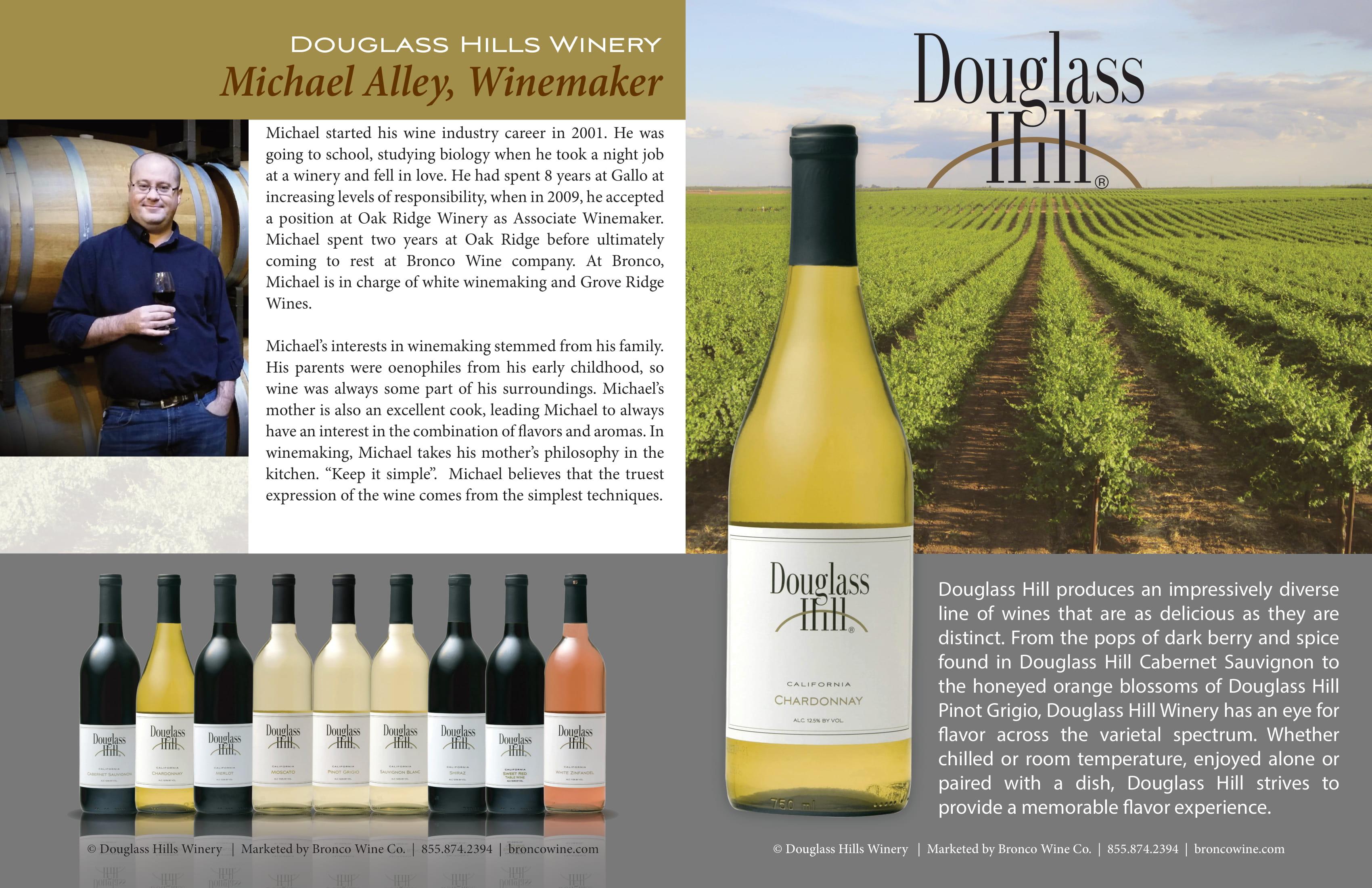 Douglass Hill Quadfold Brochure