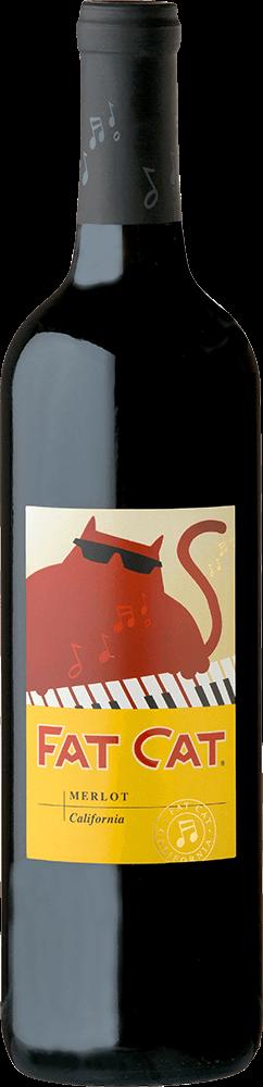 Fat Cat Merlot Bottleshot