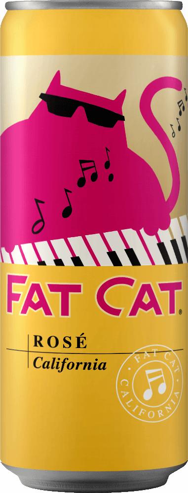 Fat Cat Rosé Can