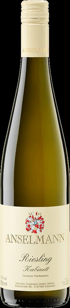Anselmann Riesling Kabinett Bottleshot
