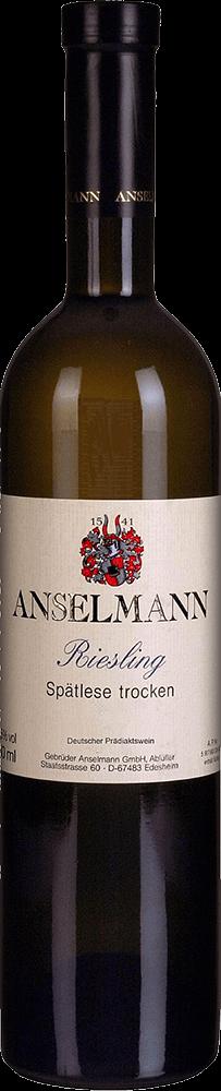 Anselmann Riesling Spatlese Trocken Bottleshot