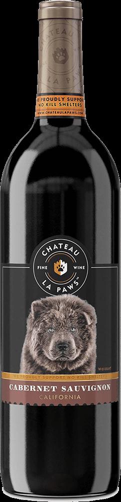 Chateau La Paws Cabernet Sauvignon Bottleshot