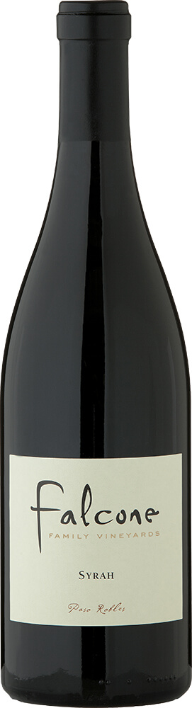 Falcone Family Vineyards Syrah Bottle Shot