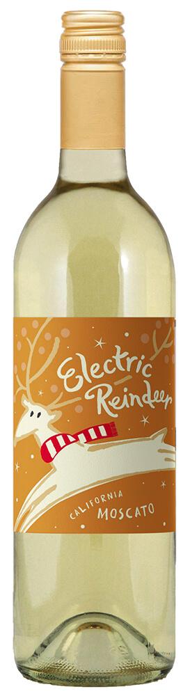 Electric Reindeer Moscato Bottle Shot