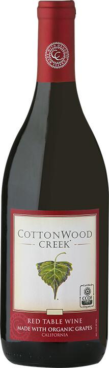 Cottonwood Creek Red Wine Bottle Shot