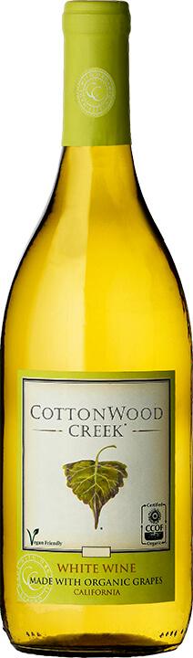 Cottonwood Creek White Wine Bottle Shot