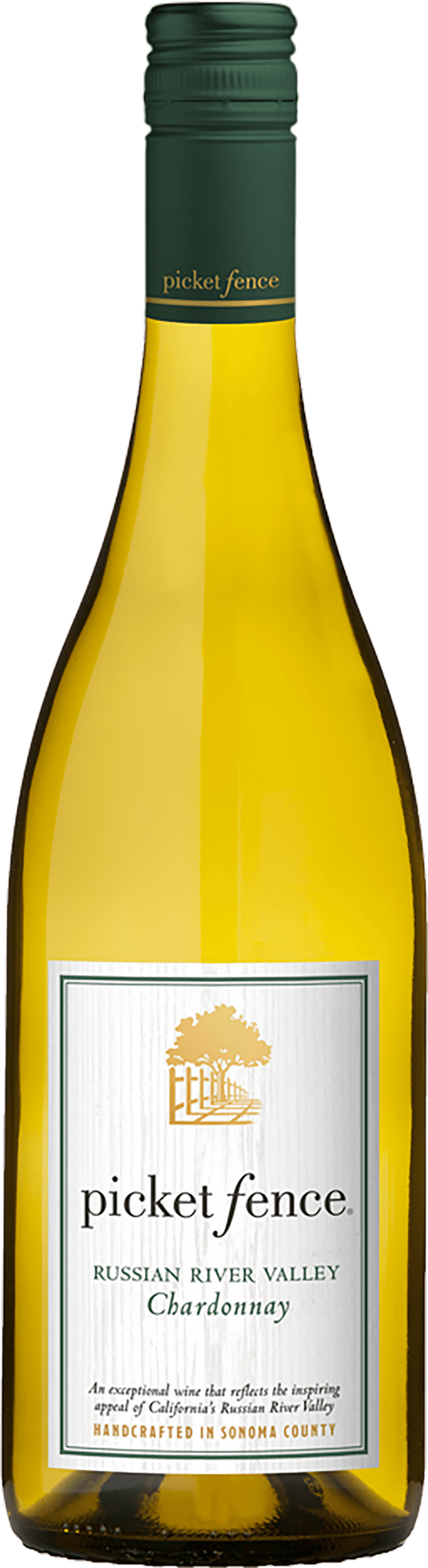 Picket Fence Chardonnay Bottleshot