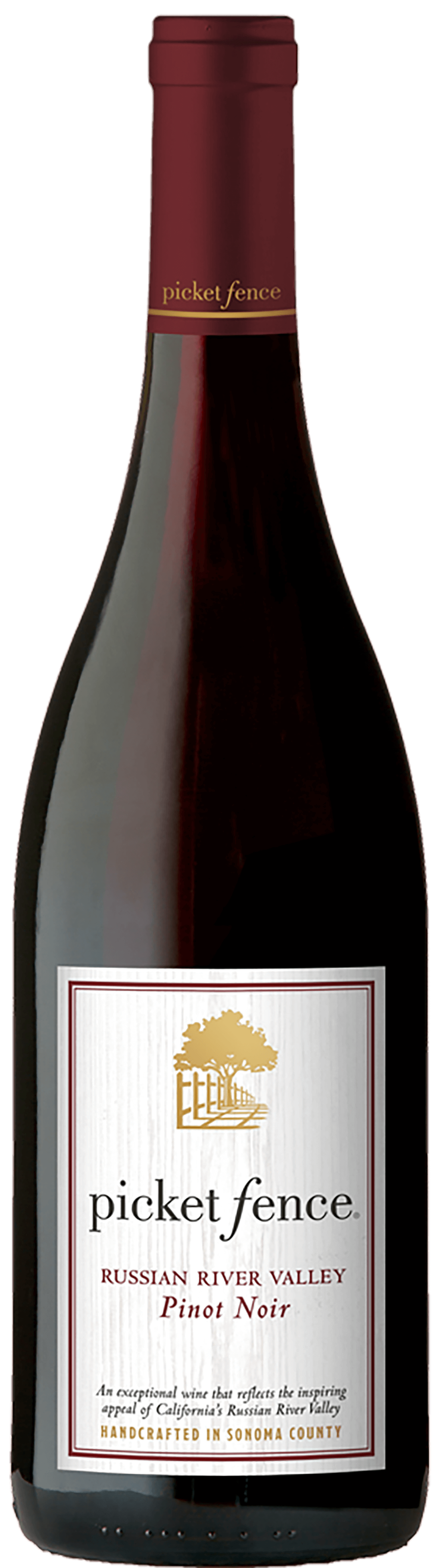 Picket Fence Pinot Noir Bottleshot