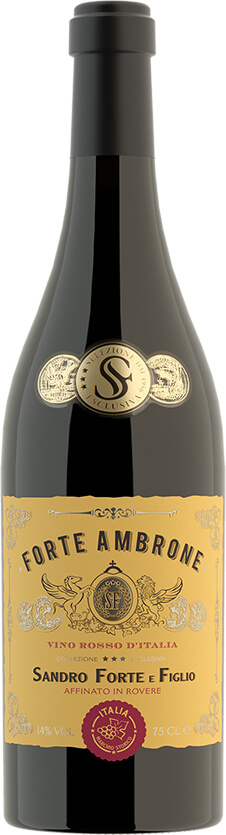 Forte Ambrone Red Wine Bottle Shot