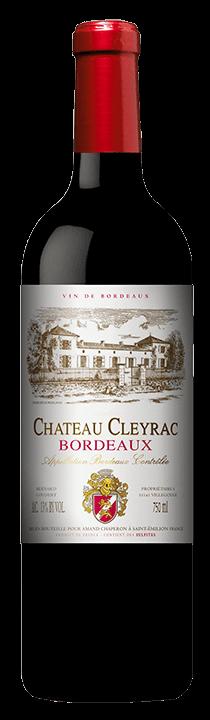 Chateau Cleyrac Bordeaux Bottle Shot