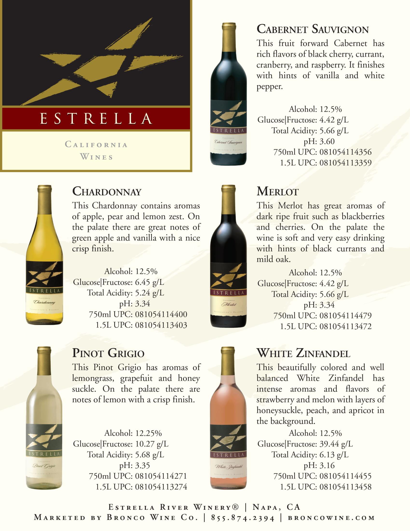Estrella One Sheet