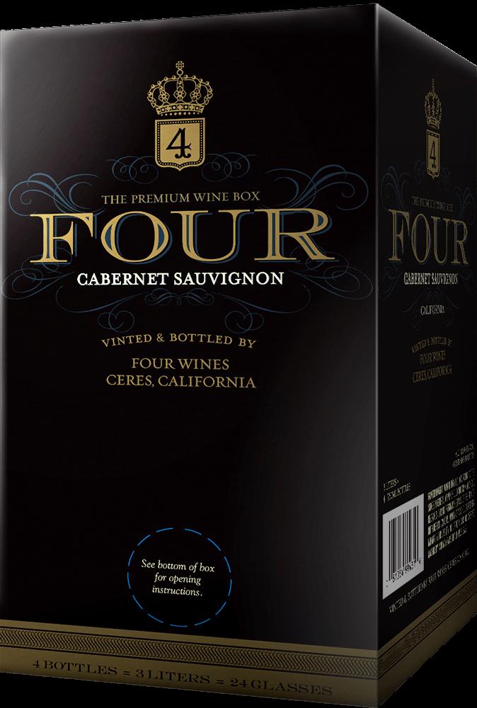 Four Wines Cabernet Sauvignon Box