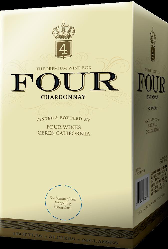 Four Wines Chardonnay Box