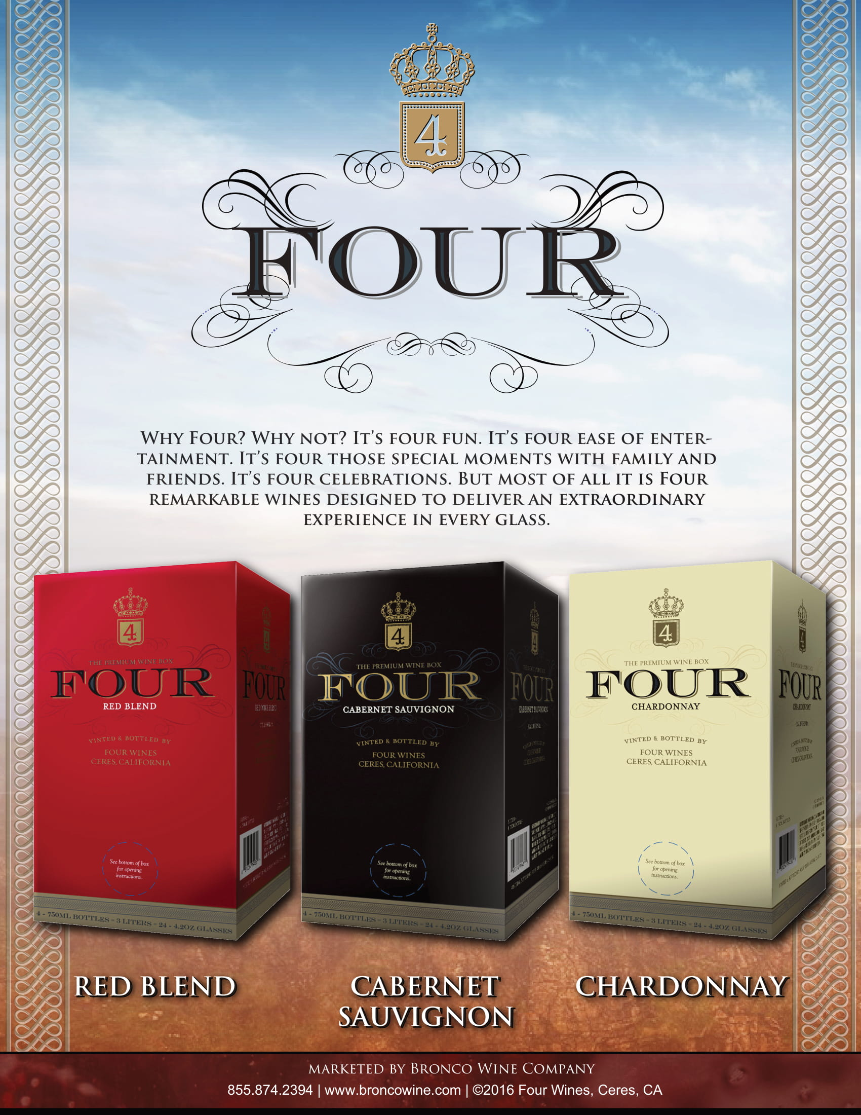 Four Wines Family Sell Sheet
