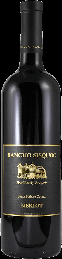 Rancho Sisquoc Merlot Bottleshot