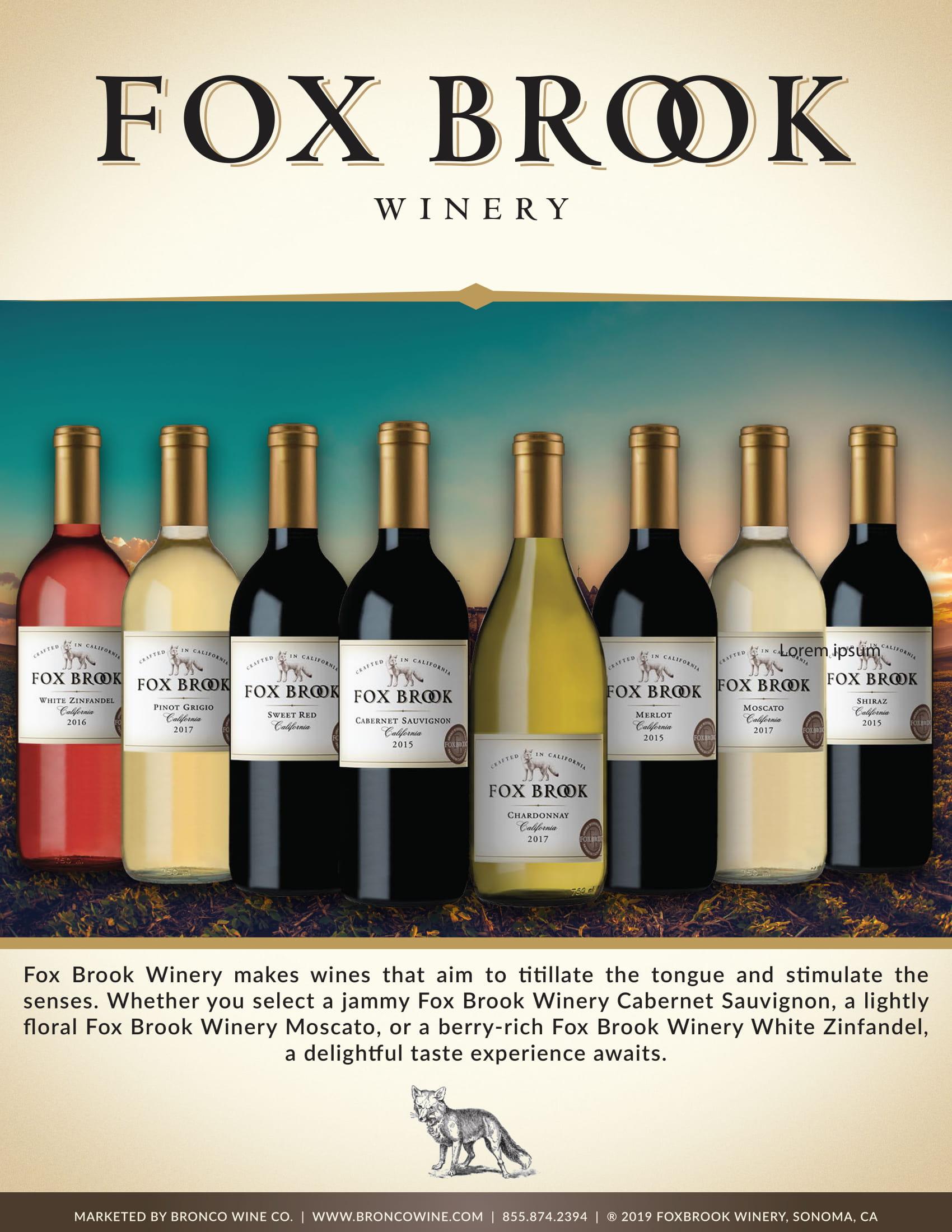 Fox Brook Family Sell Sheet